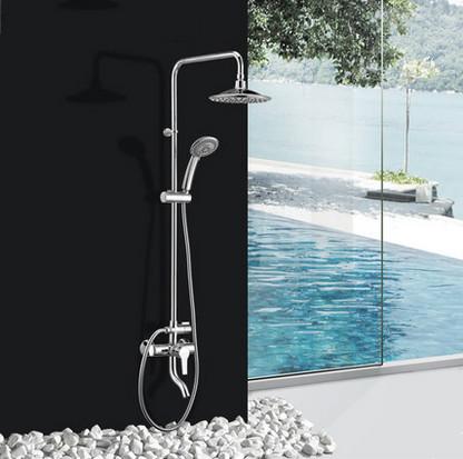 ZF中阀淋浴增压花洒套装冷热淋雨喷头沐浴淋浴器  zf80002